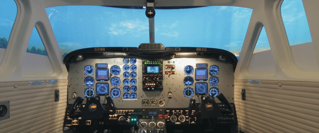 Flight Simulator (FNPT II) – Luxembourg Flight Training Academy